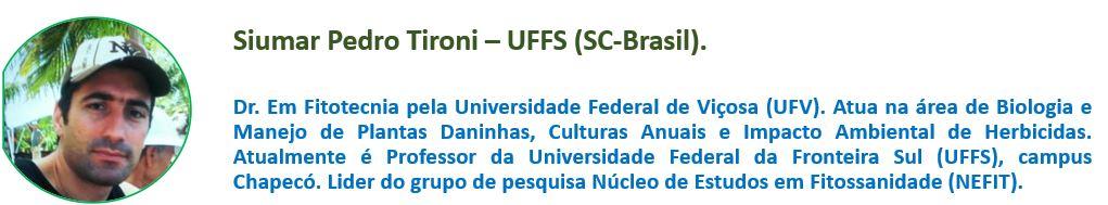 Siumar Pedro Tironi UFFS (RS-BRASIL)