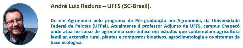 André Luiz Radunz - UFFS (SC-BRASIL)